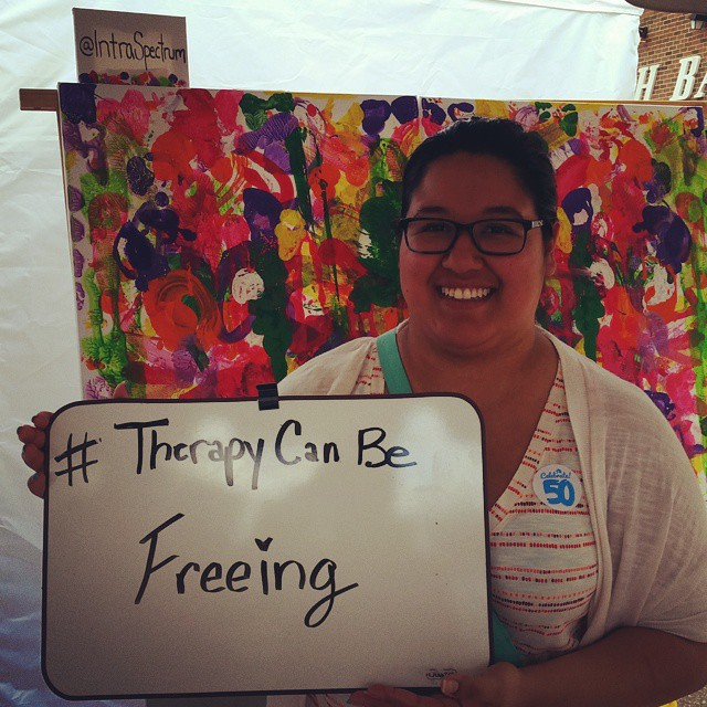 #therapycanbefreeing unedited