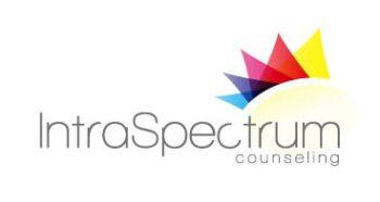 IntraSpectrum Logo with Dark Font