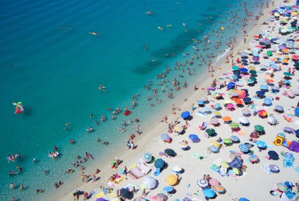 A Beach Full of People